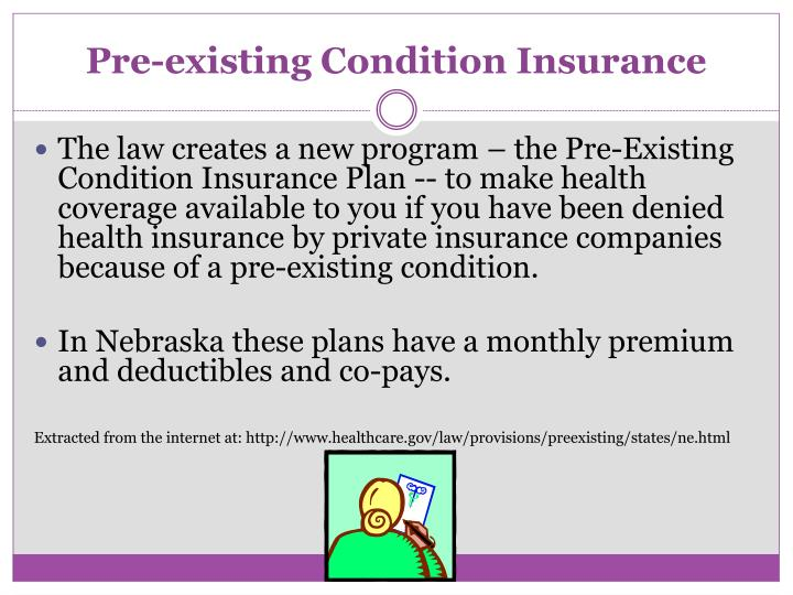 Pre-existing Condition Insurance