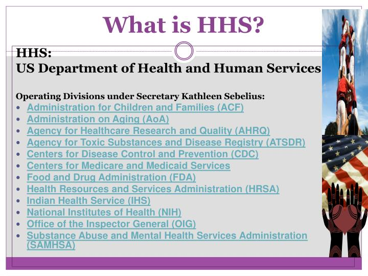 What is HHS?