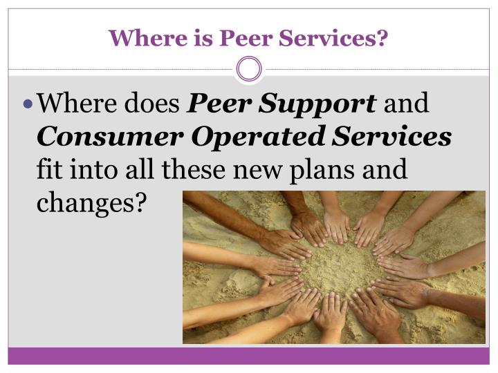 Where is Peer Services?