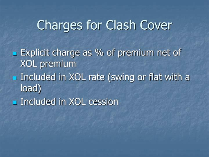Charges for Clash Cover