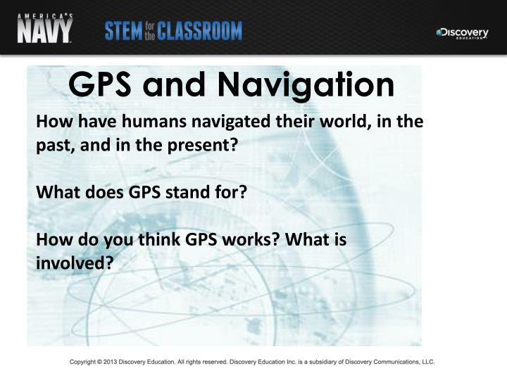 GPS and Navigation