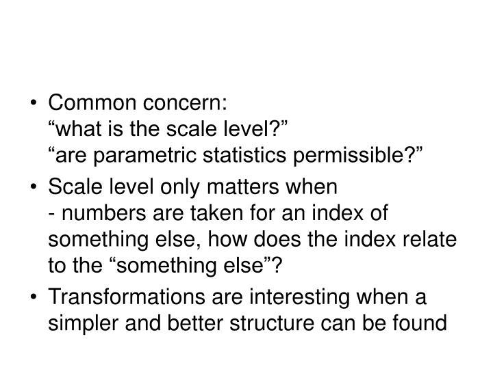 Common concern:
