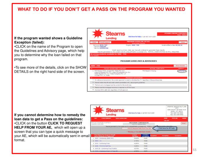 WHAT TO DO IF YOU DON'T GET A PASS ON THE PROGRAM YOU WANTED