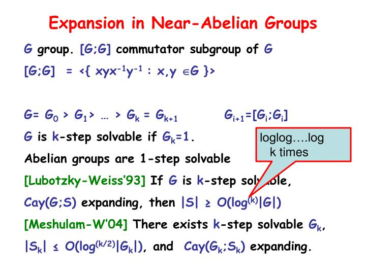 Expansion in Near-Abelian Groups