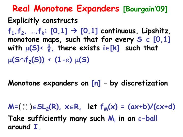 Explicitly constructs
