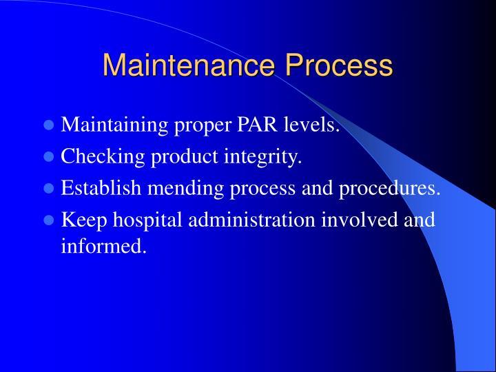 Maintenance Process