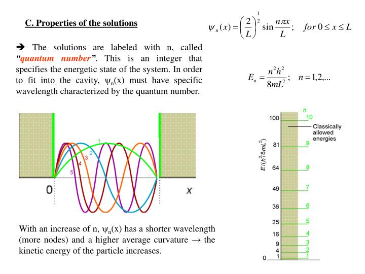 C. Properties of the solutions