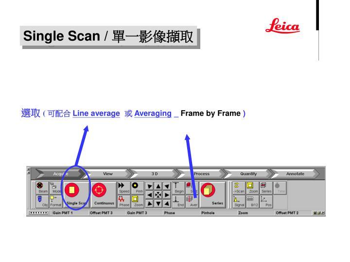 Single Scan /