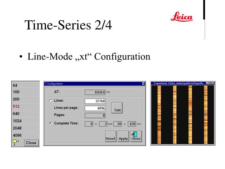 """Line-Mode """"xt"""" Configuration"""