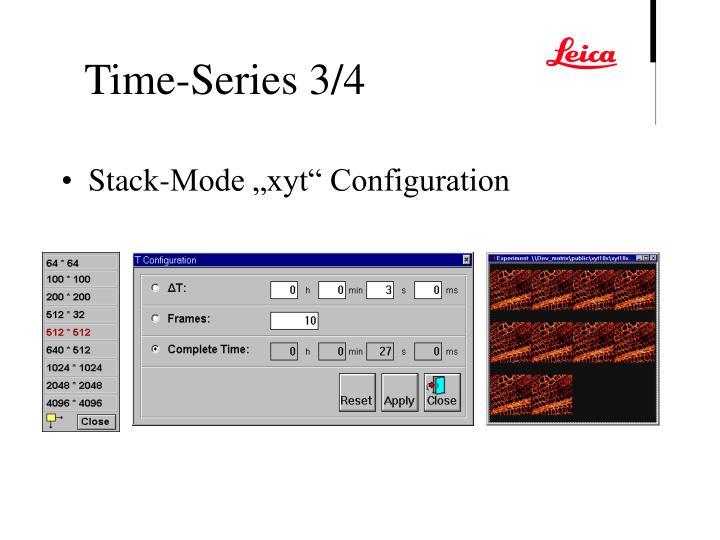 "Stack-Mode ""xyt"" Configuration"