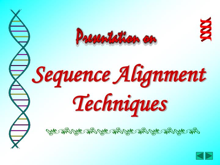 Sequence alignment techniques