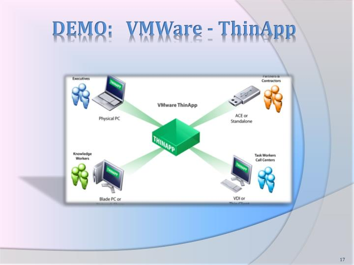 DEMO:   VMWare -