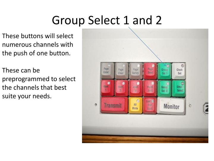 Group Select 1 and 2