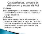caracter sticas proceso de elaboraci n y etapas de pat2