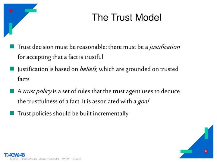 The Trust Model