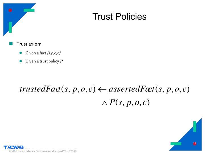 Trust Policies