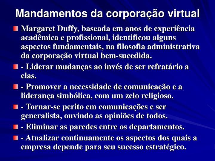 Mandamentos da corporação virtual