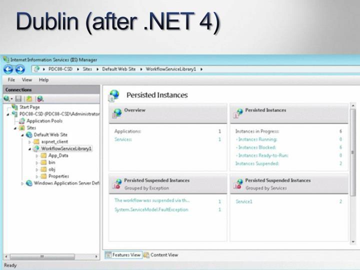 Dublin (after .NET 4)