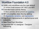 workflow foundation 4 0