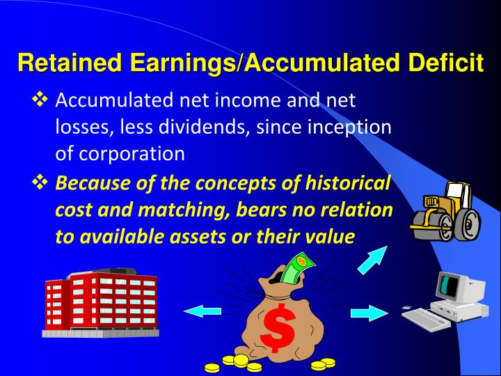 Retained Earnings/Accumulated Deficit