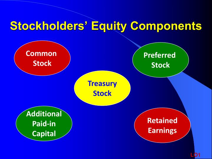Stockholders' Equity Components