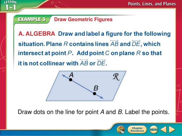 Draw Geometric Figures