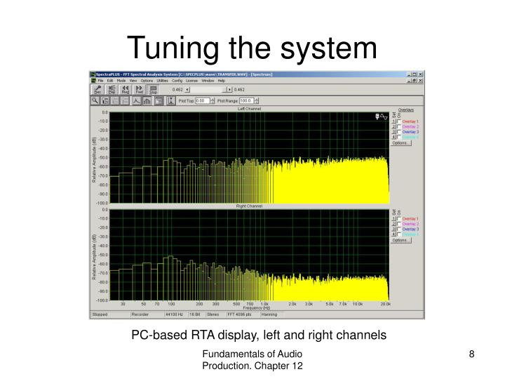Tuning the system