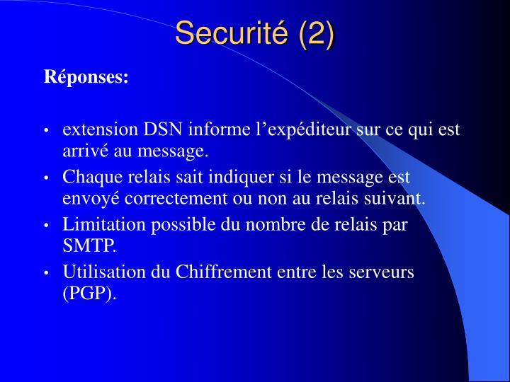 Securité (2)