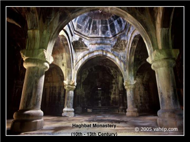 Haghbat Monastery