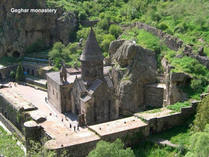 Geghar monastery