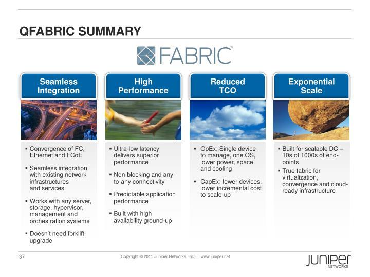 Qfabric Summary
