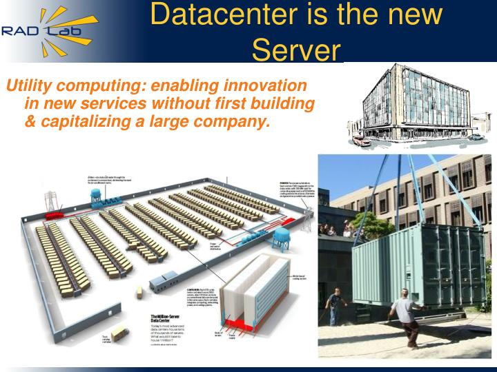 Datacenter is the new Server