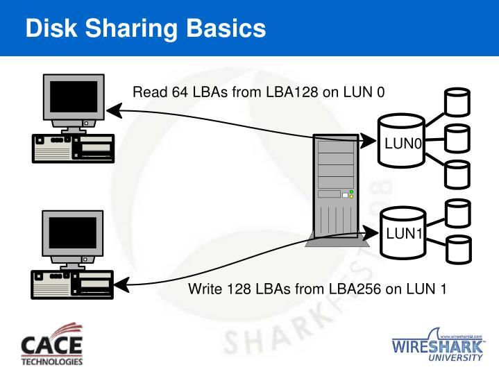 Disk Sharing Basics