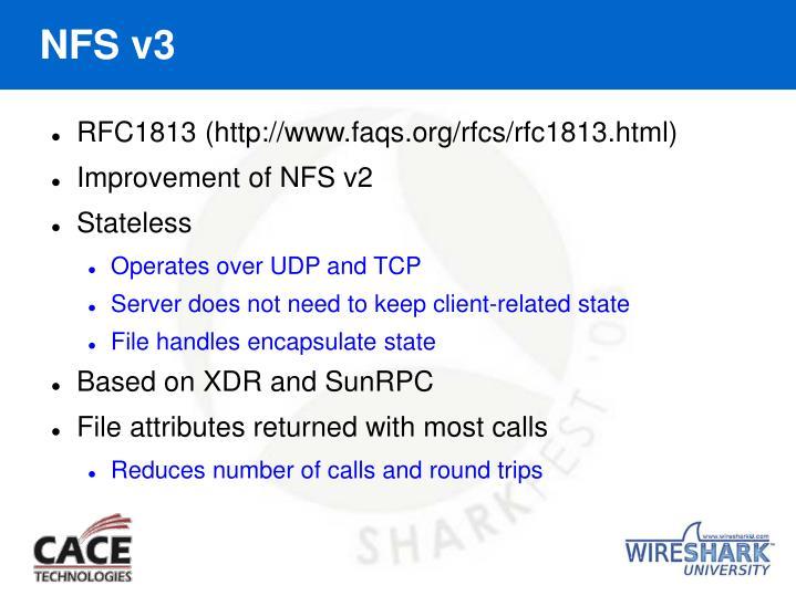 NFS v3