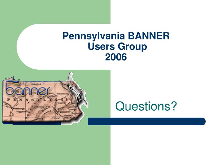 Pennsylvania BANNER