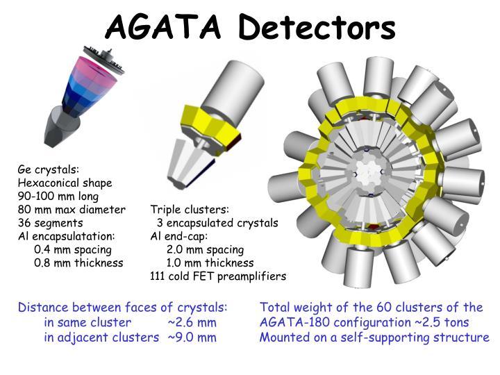 AGATA Detectors