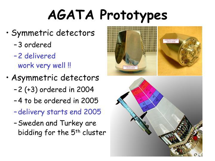 AGATA Prototypes