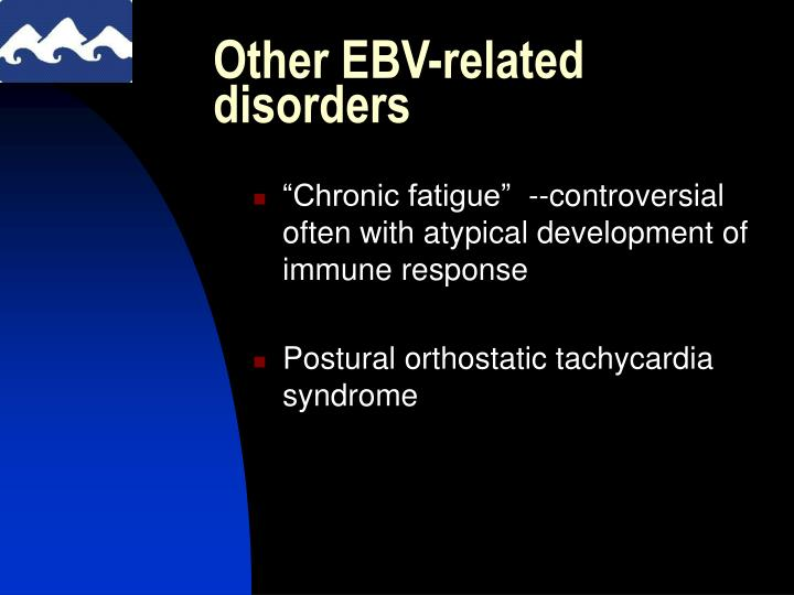 Other EBV-related disorders