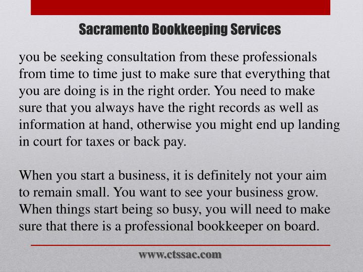 you be seeking consultation from these professionals from time to time just to make sure that everything that you are doing is in the right order. You need to make sure that you always have the right records as well as information at hand, otherwise you might end up landing in court for taxes or back pay