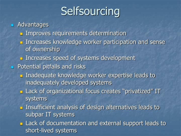 Selfsourcing