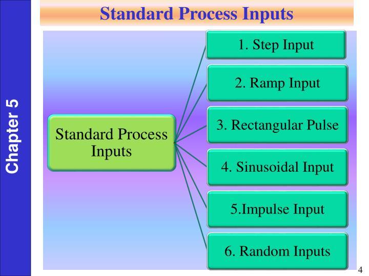 Standard Process Inputs