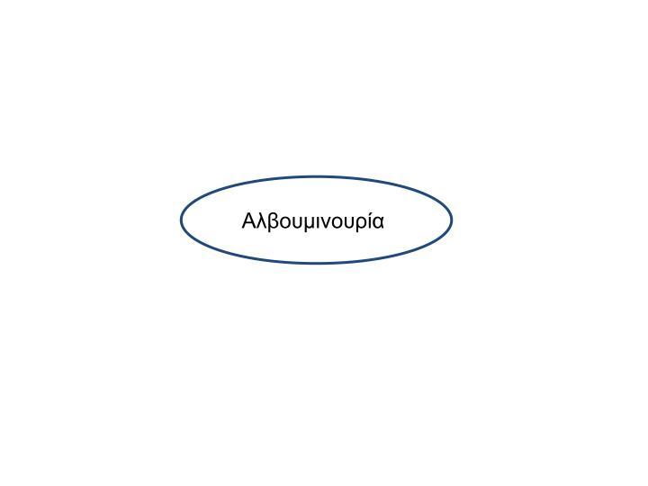 Αλβουμινουρία