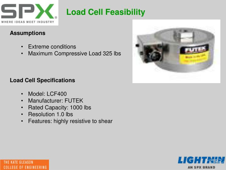 Load Cell Feasibility