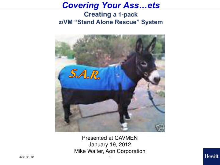 Covering Your Ass…ets
