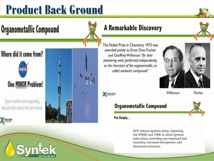 Product Back Ground