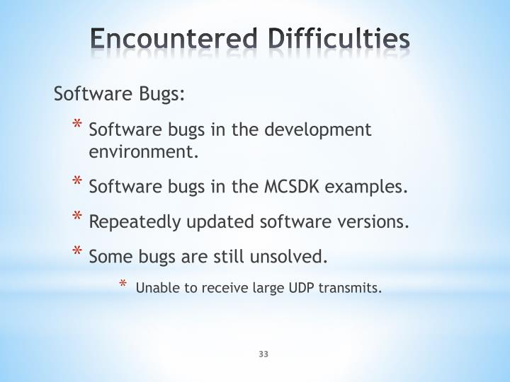 Software Bugs: