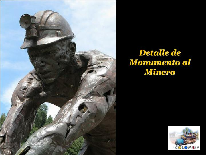 Detalle de Monumento al Minero