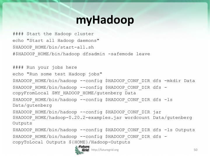 myHadoop