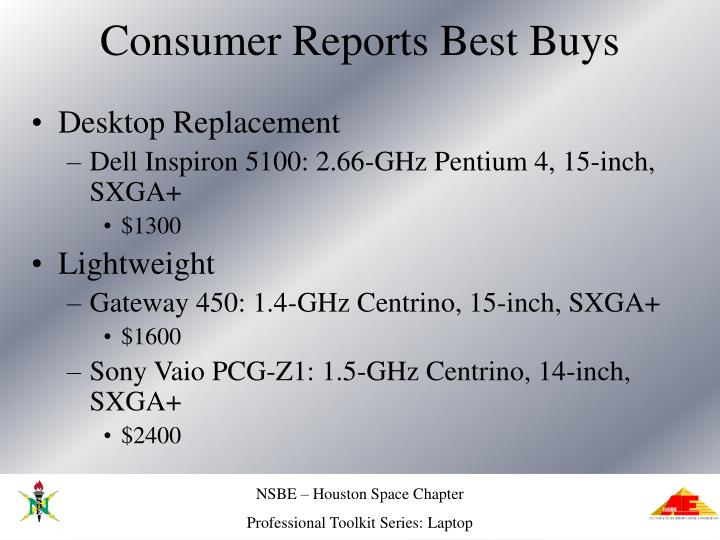 Consumer Reports Best Buys