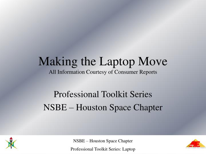Making the Laptop Move